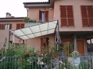Foto - Villetta a schiera via C  Ceccolini 18, Monteaperti, Castelnuovo Berardenga