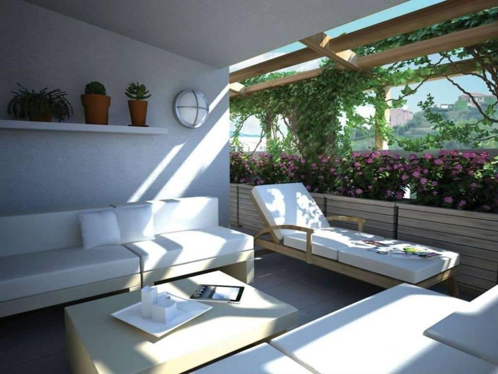 foto loggia (2) Single family villa via belvedere, Recco