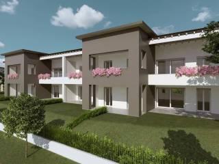 Foto - Quadrilocale nuovo, primo piano, Cernusco Lombardone
