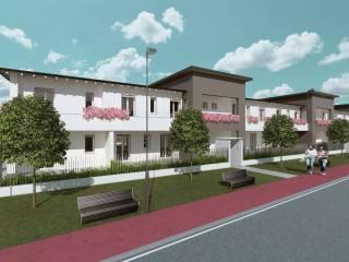 Foto - Villetta a schiera 4 locali, nuova, Lomagna