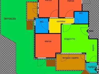 Foto - Quadrilocale ottimo stato, piano rialzato, Arenella, Palermo