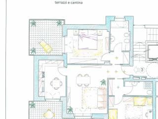 Foto - Quadrilocale nuovo, secondo piano, Collegno