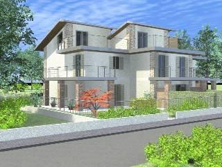 Foto - Casa indipendente 159 mq, nuova, Rovato