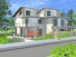 Foto - Casa indipendente 184 mq, nuova, Rovato