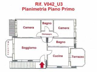 Foto - Trilocale via Gianbattista Rota, Chiari