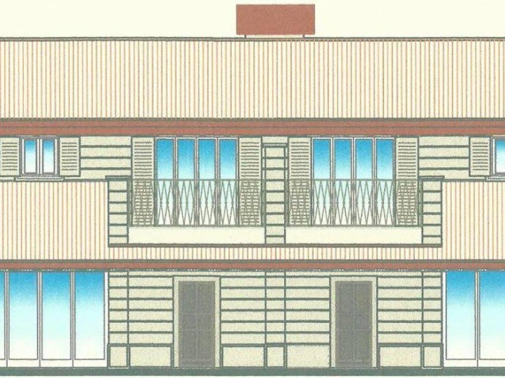 foto prospetto fronte Villa bifamiliare, nuova, 200 mq, Somaglia