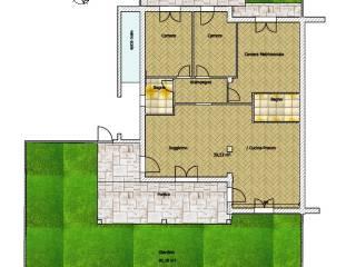 Foto - Casa indipendente 110 mq, nuova, Castelnuovo Magra