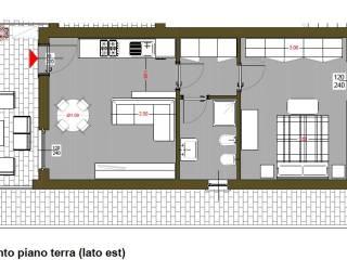Foto - Villetta a schiera 2 locali, nuova, Vezzano Ligure