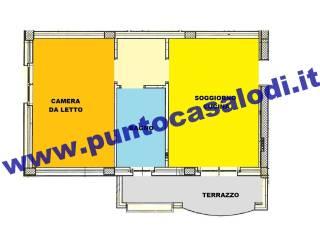 Foto - Attico / Mansarda nuovo, 50 mq, Borgo San Giovanni