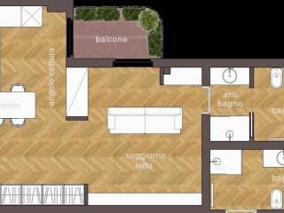 Foto - Bilocale ottimo stato, terzo piano, Ospedale Maggiore, Parma