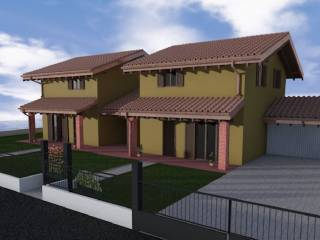 Foto - Villa, nuova, 124 mq, Borgo Ticino