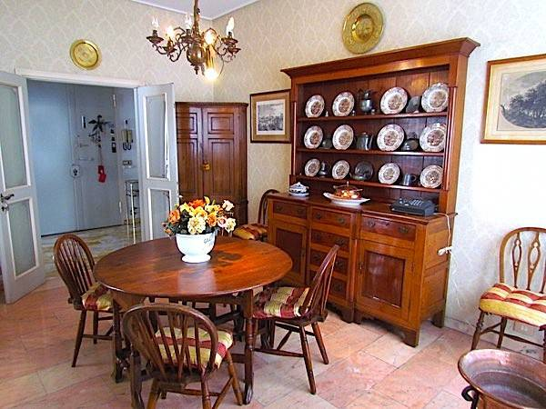 foto Sala Pranzo Appartamento via dei Cairoli, Firenze