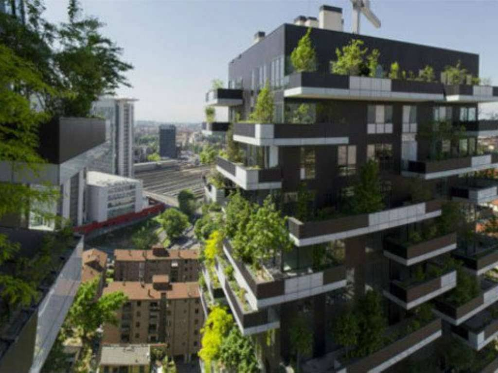 Green architecture milan and the bosco verticale