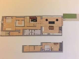 Foto - Appartamento nuovo, piano terra, Santo Spirito, Firenze