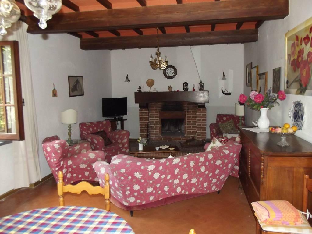 foto sala Casa colonica via San Martino, Peccioli