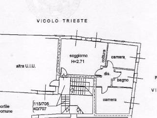 Foto - Trilocale vicolo Trento 11, Capriate San Gervasio