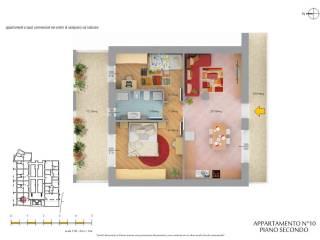 Foto - Trilocale nuovo, secondo piano, Savignano Sul Rubicone
