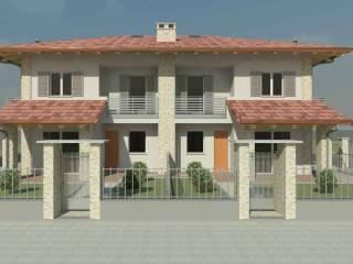 Foto - Villa a schiera, nuova, San Biagio, Centallo