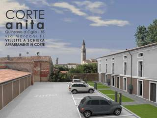 Foto - Trilocale nuovo, piano terra, Quinzano d'Oglio