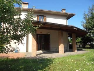 Foto - Villetta a schiera 4 locali, buono stato, Monticelli Brusati