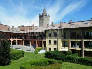 Foto - Trilocale via Chiesa 1, Schianno, Gazzada Schianno