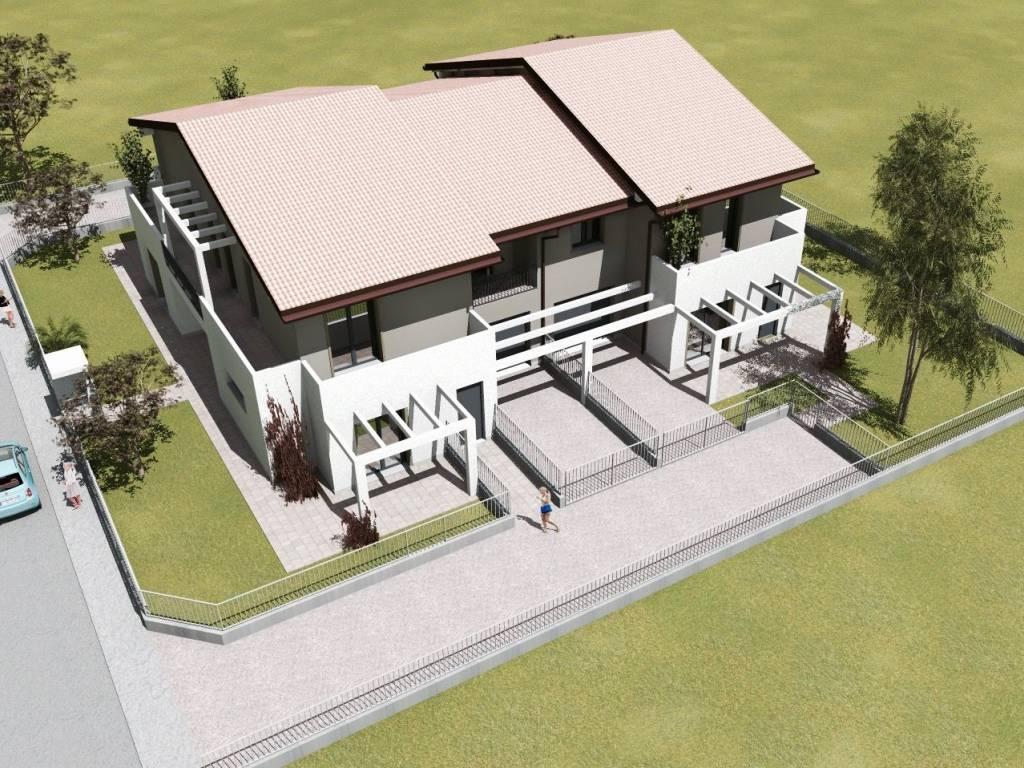 foto  Villa bifamiliare, nuova, 150 mq, Vigasio