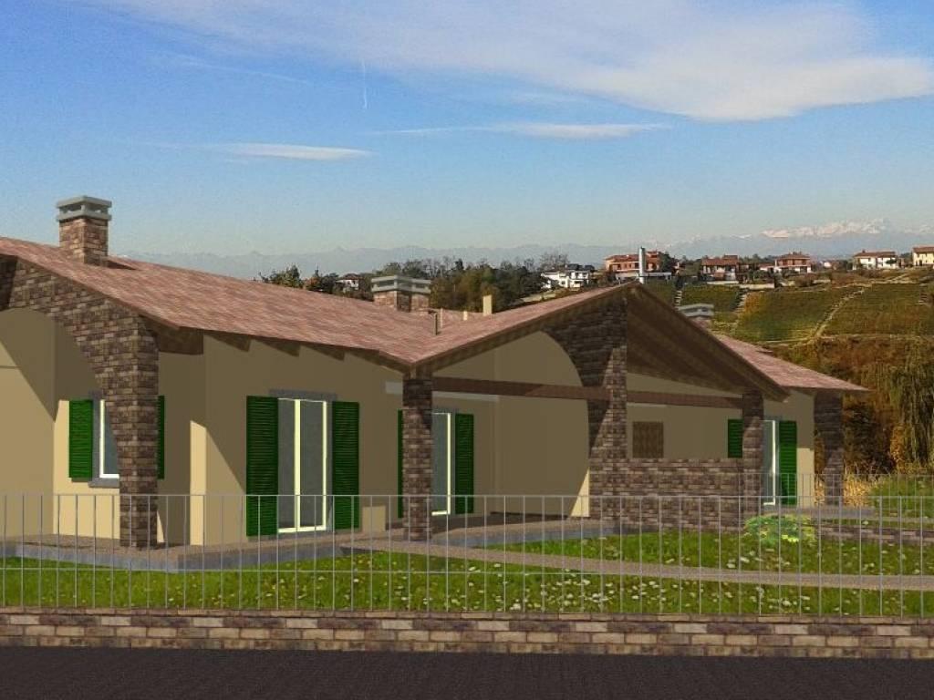 foto Rendering Villa via Quaglia, San Martino Alfieri