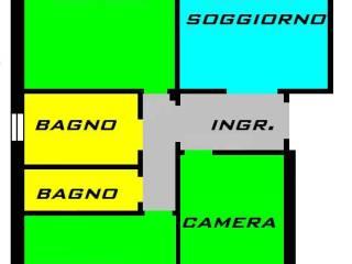 Foto - Quadrilocale buono stato, secondo piano, Santa Croce, Firenze