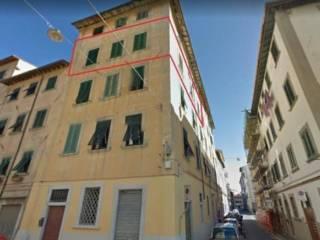 Foto - Quadrilocale all'asta via Carrozzieri 3, Borgo Cappuccini, Livorno