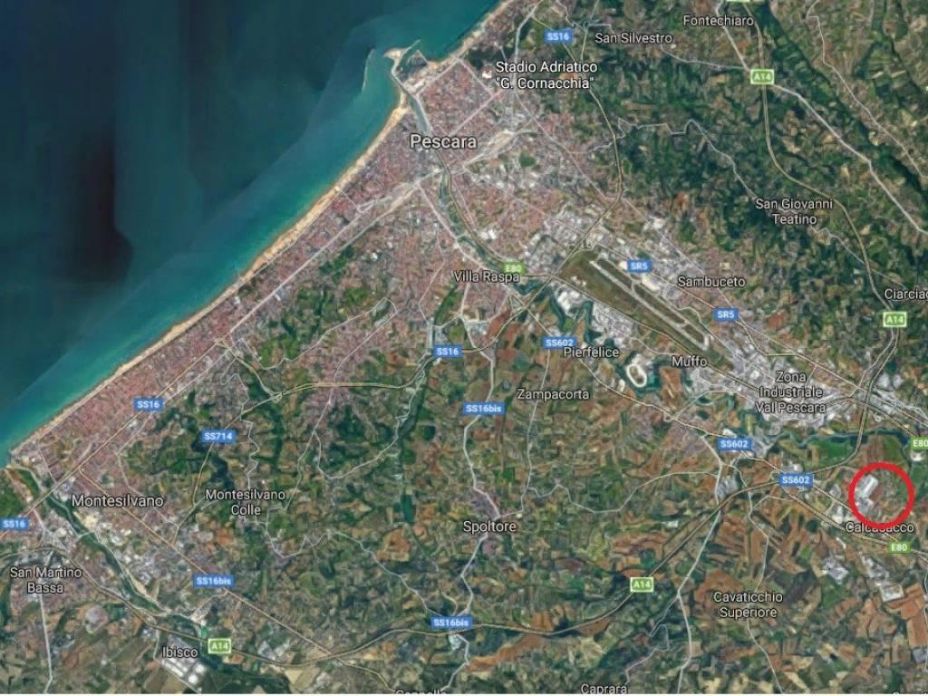 foto posizione Terreno edificabile commerciale a Cepagatti