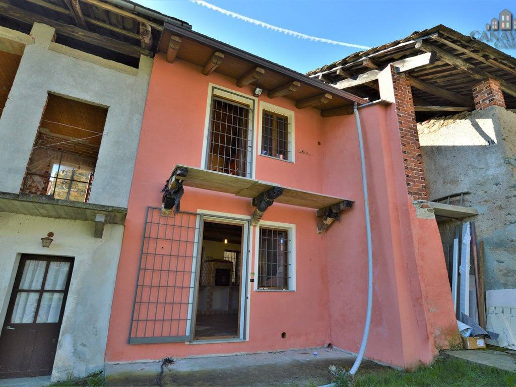 foto esterno Detached house frazione Rua, Canischio