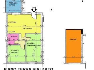 Foto - Trilocale nuovo, piano rialzato, Collina, Livorno