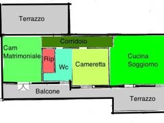 Foto - Trilocale via San Martino, Ficarazzi