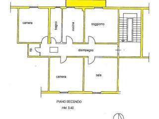 Foto - Appartamento da ristrutturare, secondo piano, Via Arno, Arezzo