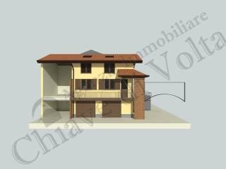 Foto - Casa indipendente 150 mq, nuova, Arsago Seprio