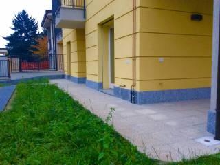 Foto - Bilocale nuovo, piano terra, Garbagnate Milanese