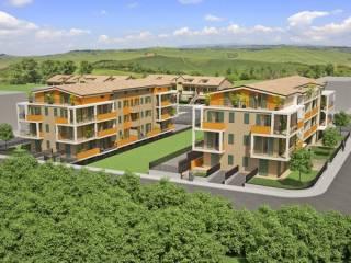 Foto - Trilocale nuovo, primo piano, Montecosaro
