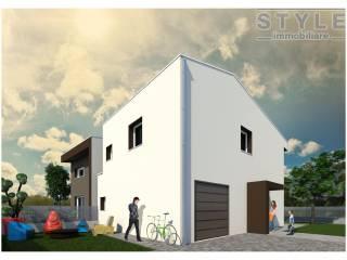 Foto - Casa indipendente 140 mq, nuova, Campagna Lupia