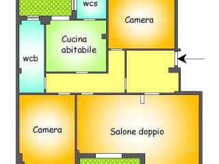 Foto - Quadrilocale ottimo stato, sesto piano, Villa Sofia, Palermo