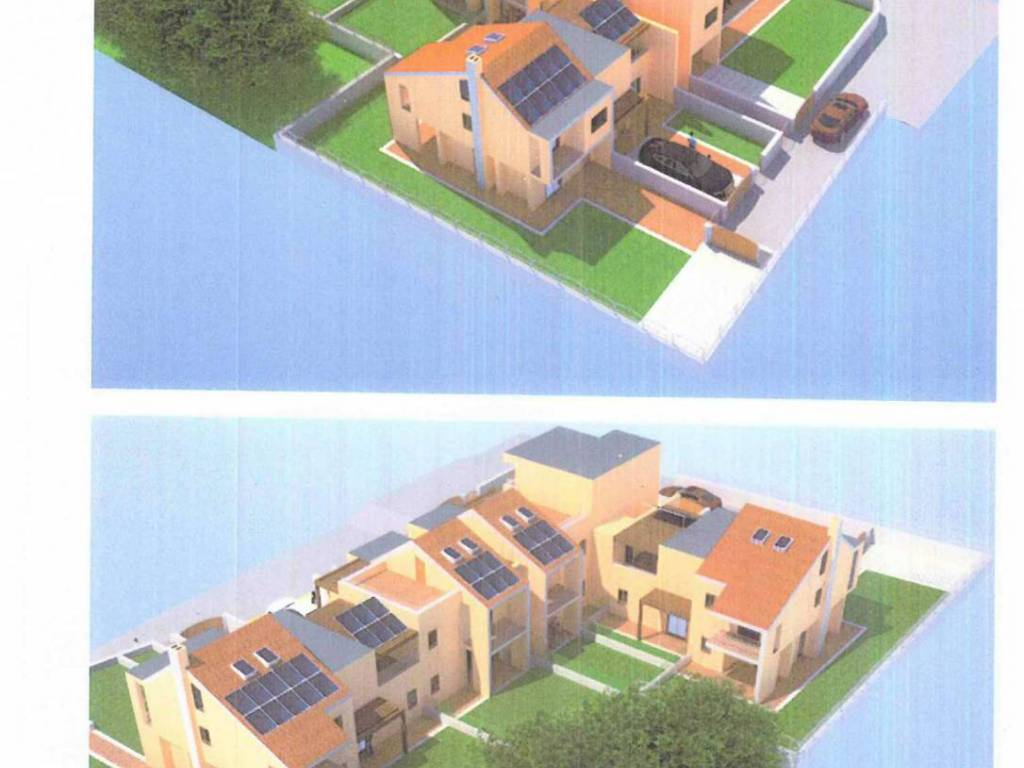 foto disegno3 Single-family townhouse 60 sq.m., Ariccia