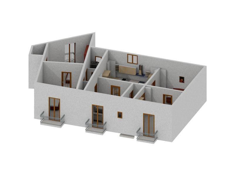 foto  Appartamento da ristrutturare, primo piano, Oria