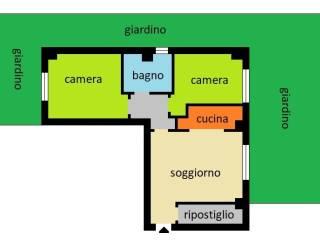 Foto - Trilocale via Piave, Bareggio