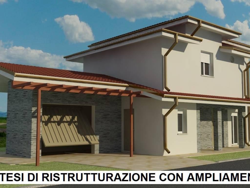 foto  Villa, da ristrutturare, 121 mq, San Giovanni in Marignano