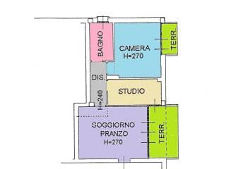 Foto - Trilocale nuovo, primo piano, Saffi, Bologna