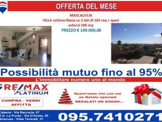 Foto - Villetta a schiera via Santa Maria delle Fosse, 9, Massa Annunziata, Mascalucia