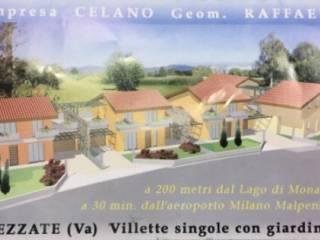 Foto - Villetta a schiera via Brebbia, Cadrezzate
