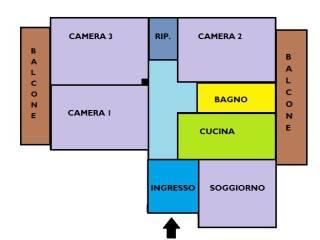 Foto - Quadrilocale via Benvenuto Cellini, Portici