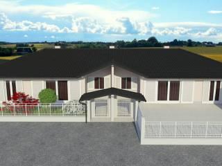 Foto - Villa unifamiliare, nuova, 154 mq, Gropello Cairoli