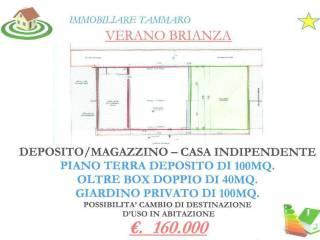 Foto - Casa indipendente 126 mq, ottimo stato, Verano Brianza