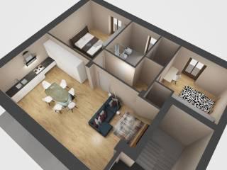 Foto - Appartamento via Guglielmo Marconi 14, Venasca